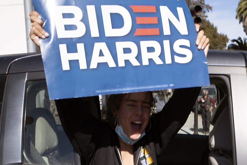 Biden Harris Celebration