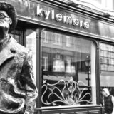 James Joyce statue in Dublin, Ireland