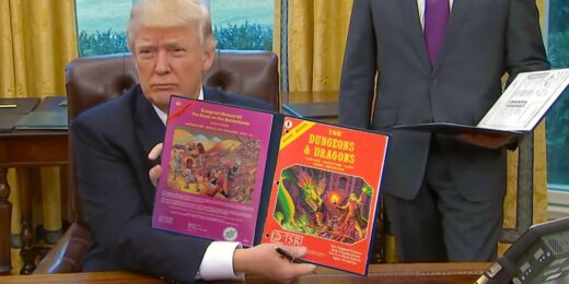 Donald and Dragons