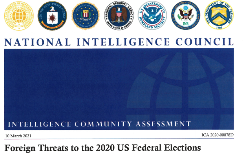 ICA 2020 Election