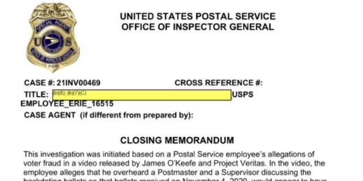USPS Inspector General