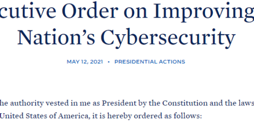 Executive Order on Cybersecurity