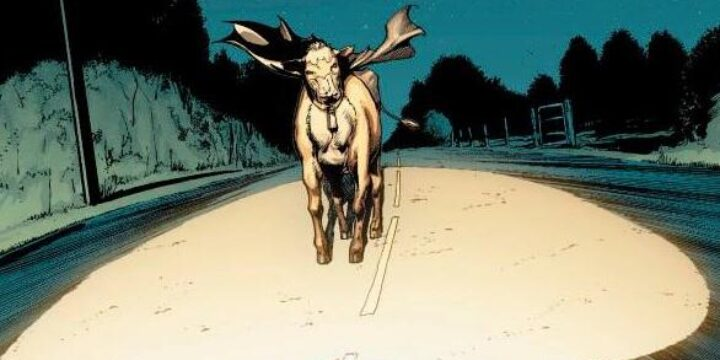 The Bat-Cow: Batman Goes To The Moo-vies