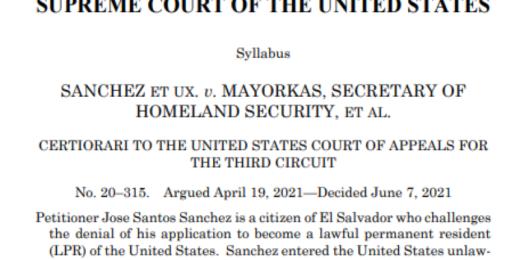 SCOTUS Immigration ruling