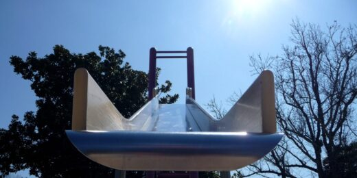 Wistful for War: The Flawed Nostalgia of the Steel Playground Slide