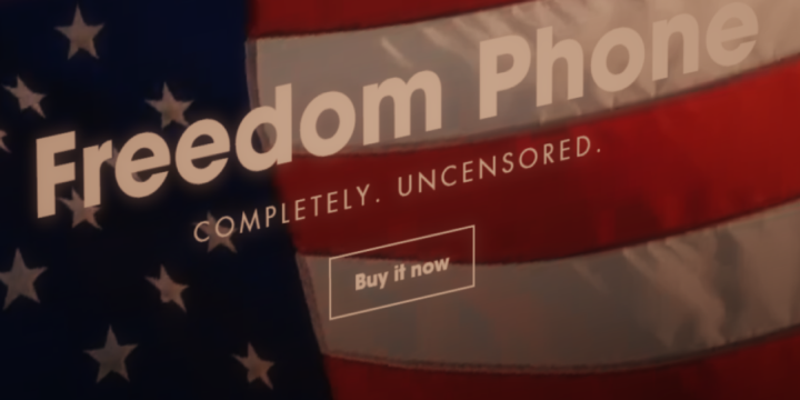 Calling All Grifters: On Hawking The Freedom Phone