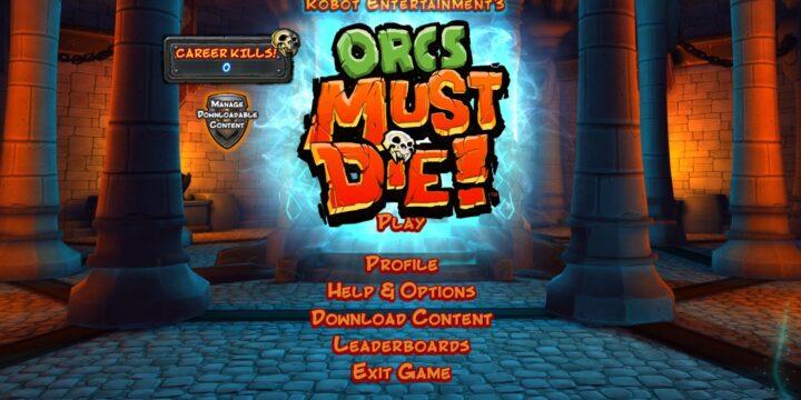 Saturday Morning Gaming: Orcs Must Die!