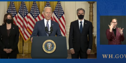 Biden's Remarks on Afghanistan