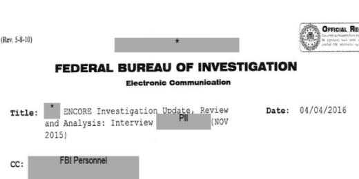 declassified 9/11 documents